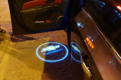 LED logo lys - solfilm til biler og bygninger